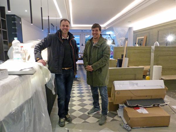 Umfassender Umbau von Gasträumen und Küche mit Eröffnung im April