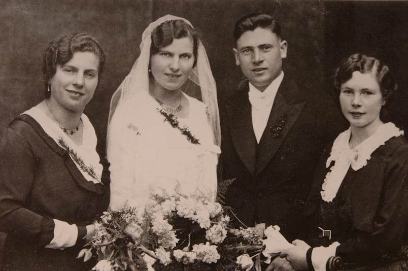 Heirat von Karl und Walburga Settele